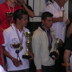 CdeFrance- podium junior et tt categ.