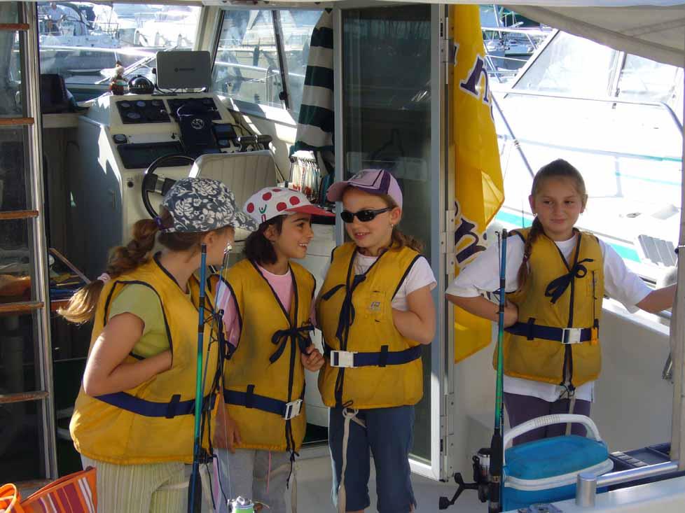 Ces dames parlent poisson!!