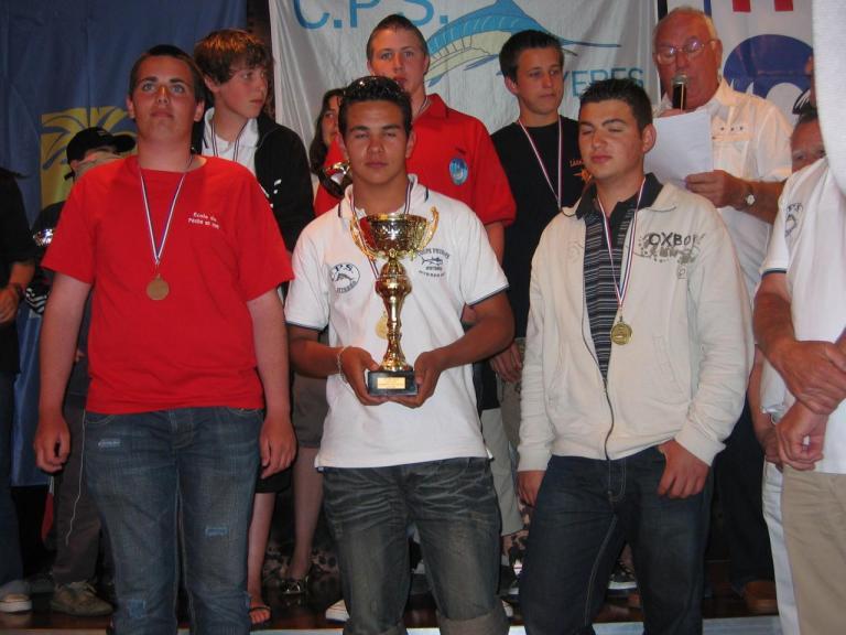 CdeFrance- podium junior et tt categ.